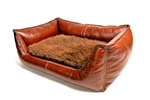 Leather Bed Floor Model