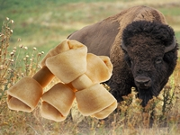 Wholesale Bison Rawhide Chews