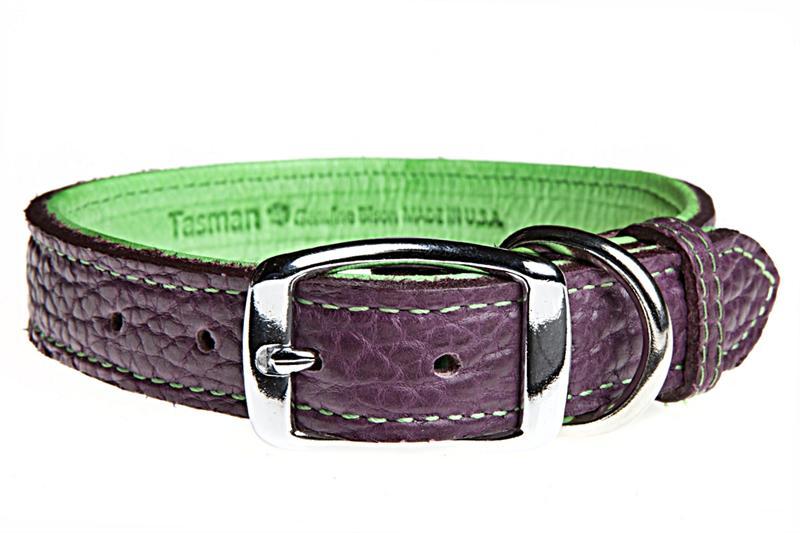 Bison  U0026 Elk Leather Dog Collars Made In Usa From Tasman U0026 39 S